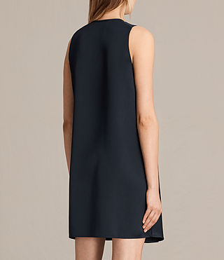 Womens Bea Dress (Midnight Blue/Blk) - product_image_alt_text_6