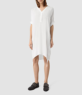 Womens Isle Dress (Chalk White)