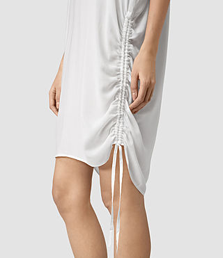 Mujer Isle Dress (Chalk White) - product_image_alt_text_2