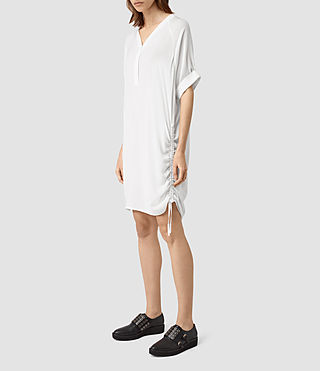 Mujer Isle Dress (Chalk White) - product_image_alt_text_3