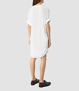 Mujer Isle Dress (Chalk White) - product_image_alt_text_4