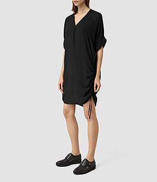 Womens Isle Dress (Black) - product_image_alt_text_3