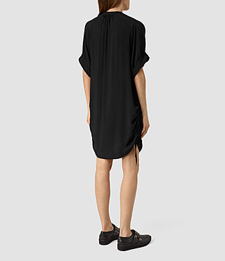 Womens Isle Dress (Black) - product_image_alt_text_4