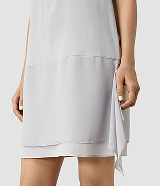 Damen Isha Dress (MIRAGE GREY) - product_image_alt_text_2
