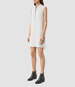 Damen Isha Dress (MIRAGE GREY) - product_image_alt_text_3