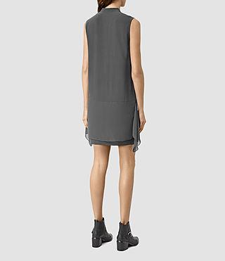 Donne Isha Dress (Gunmetal) - product_image_alt_text_4