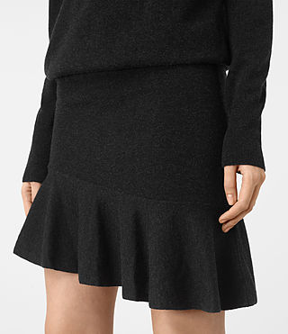 Femmes Hava Dress (Cinder Black Marl) - product_image_alt_text_2