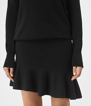 Womens Hava Dress (Black) - product_image_alt_text_2