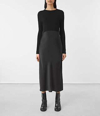 Damen Kowlo Dress (Black)