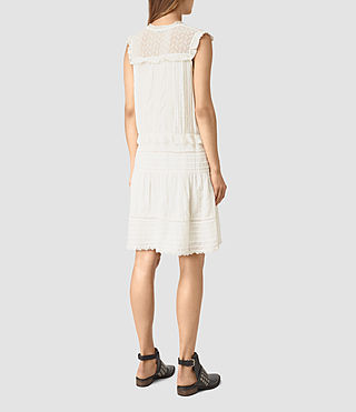 Damen Jolene Alaw Dress (Chalk White) - product_image_alt_text_5
