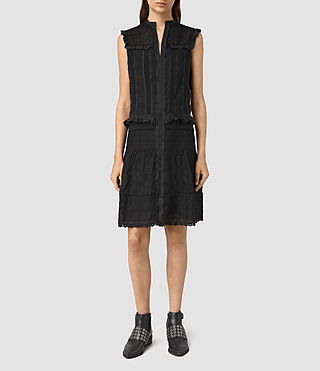 Womens Jolene Alaw Dress (Black) - product_image_alt_text_1
