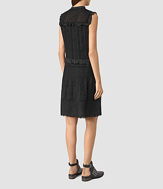 Womens Jolene Alaw Dress (Black) - product_image_alt_text_4