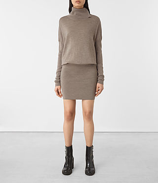 Damen Astrid Dress (LUNAR GREY)