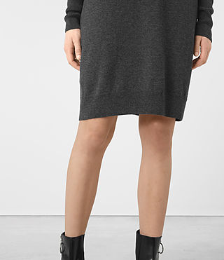 Womens Granville Dress (Charcoal Grey) - product_image_alt_text_3
