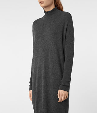Femmes Granville Dress (Charcoal Grey) - product_image_alt_text_4
