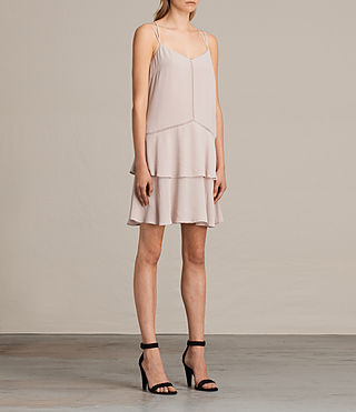 Women's Karin Dress (NUDE PINK) - product_image_alt_text_4
