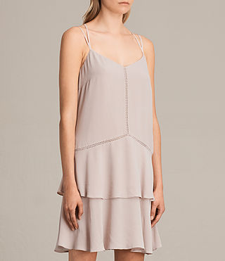 Women's Karin Dress (NUDE PINK) - product_image_alt_text_8