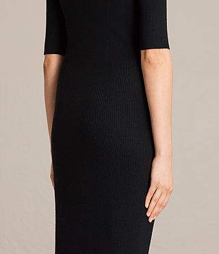 Damen Lavine Kleid (Black) - product_image_alt_text_4