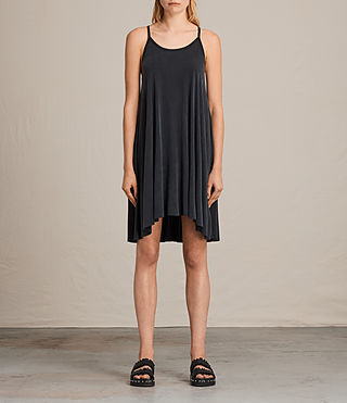 Damen Conley Dress (Washed Black) -