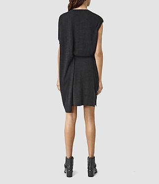 Damen Shera Dress (Cinder Black Marl) - product_image_alt_text_3