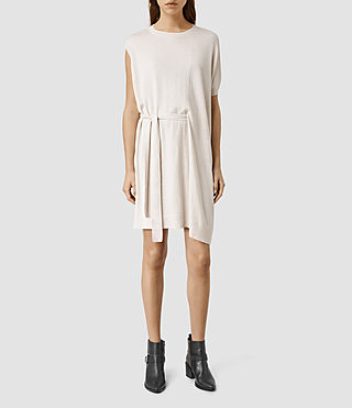Damen Shera Dress (ALMOND PINK MARL)
