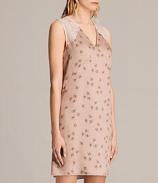 Mujer Prism Rosalie Dress (BLUSH PINK) - product_image_alt_text_3