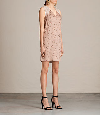 Mujer Prism Rosalie Dress (BLUSH PINK) - product_image_alt_text_6