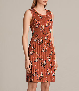 Womens Etta Kirsch Dress (Red) - product_image_alt_text_3