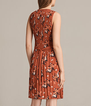 Womens Etta Kirsch Dress (Red) - product_image_alt_text_7