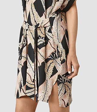 Mujer Sonny Fuji Dress (Black) - product_image_alt_text_2