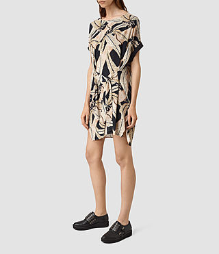 Mujer Sonny Fuji Dress (Black) - product_image_alt_text_3