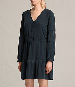 Women's Nora Dress (Black) - product_image_alt_text_3
