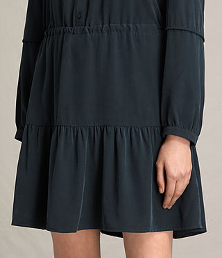Women's Nora Dress (Black) - product_image_alt_text_4