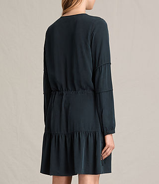 Women's Nora Dress (Black) - product_image_alt_text_6