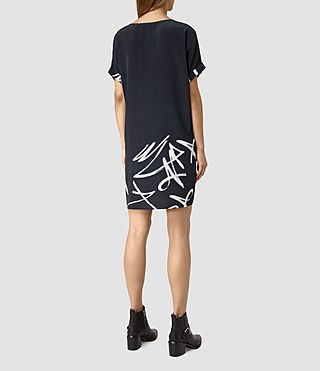 Womens Sonny Tokyo Dress (Ink Blue) - product_image_alt_text_4