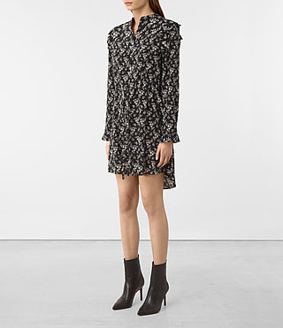 Mujer Sora Nevin Dress (Black) - product_image_alt_text_4