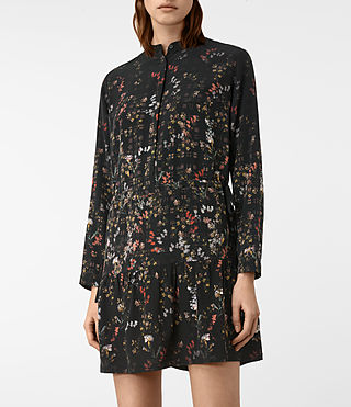 Donne Lin Ls Nevada Dress (Black) - product_image_alt_text_2