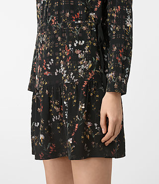 Donne Lin Ls Nevada Dress (Black) - product_image_alt_text_3