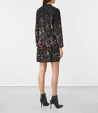 Donne Lin Ls Nevada Dress (Black) - product_image_alt_text_5