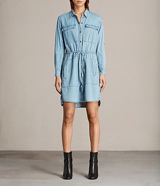 millie shirt dress