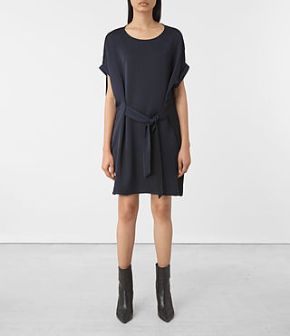 Mujer Sonny Dress (Midnight Blue/Blk)