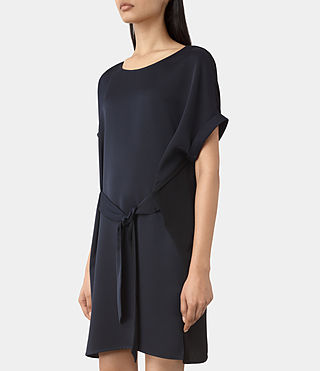 Womens Sonny Dress (Midnight Blue/Blk) - product_image_alt_text_2