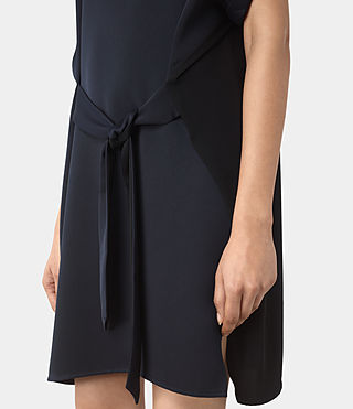 Womens Sonny Dress (Midnight Blue/Blk) - product_image_alt_text_4