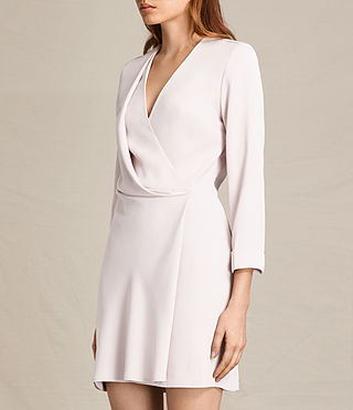 Womens Rila Dress (CHAMPAGNE PINK) - product_image_alt_text_5