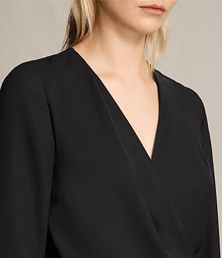 Womens Rila Dress (Black) - product_image_alt_text_5