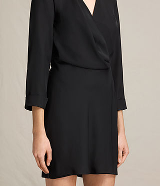 Womens Rila Dress (Black) - product_image_alt_text_6