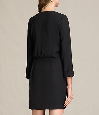 Womens Rila Dress (Black) - product_image_alt_text_7
