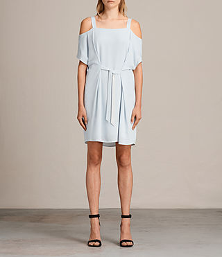 Womens Rae Dress (Cloud Blue) - product_image_alt_text_1
