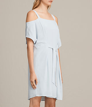 Womens Rae Dress (Cloud Blue) - product_image_alt_text_3