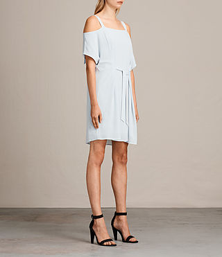 Womens Rae Dress (Cloud Blue) - product_image_alt_text_4
